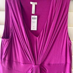 NWT Soma L-12 summer sleeveless dress purple